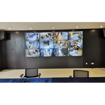 中石化浙江舟山石油有限公司会议室LCD拼接屏